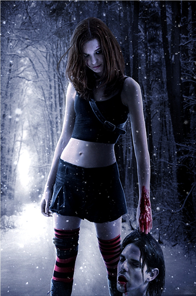 Some Where Cold Jan 12, 2011 Photographer: Malificent, Photoshop: Julija If you go into the woods...
