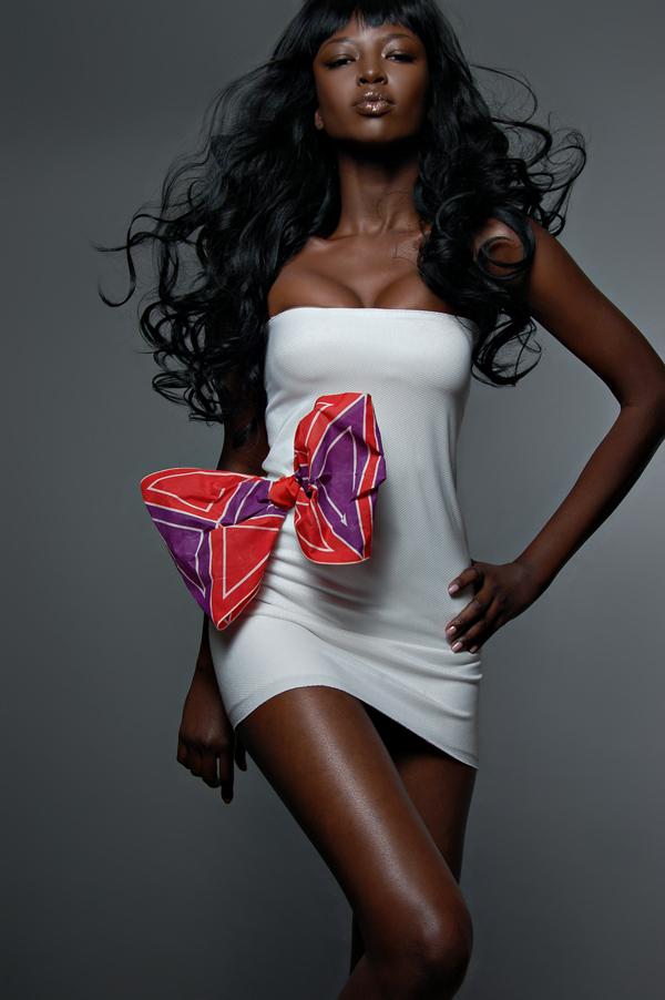 Female model photo shoot of Booshie Styling