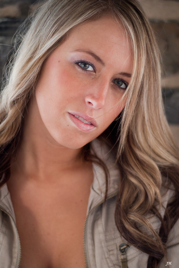 Female model photo shoot of Brittney Michelle W by Jim T Photography