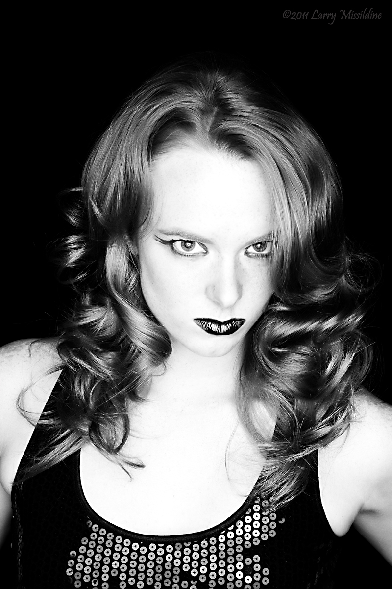 Female model photo shoot of Borah_MUA_and_Hair by Missildine Arts in Allen, TX