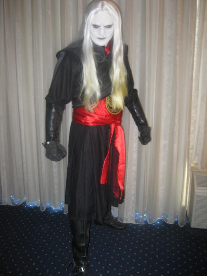 Dragoncon, Atlanta, Georgia Jan 15, 2011 Tim J. Hays Prince Nuada costume