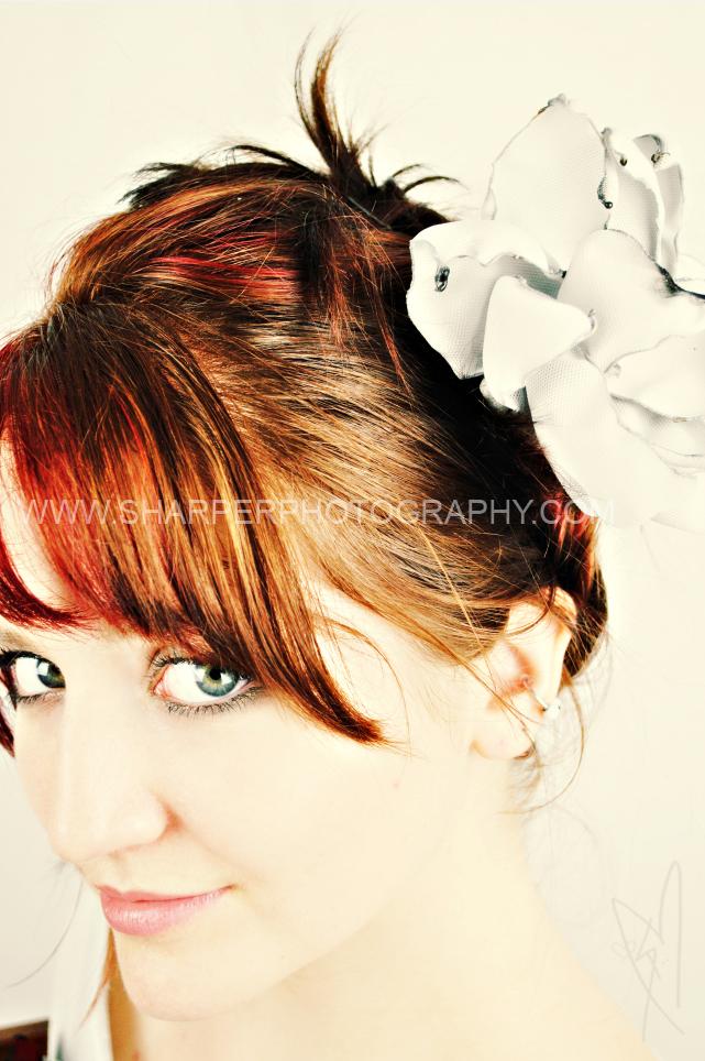 Female model photo shoot of SHARPERstudio