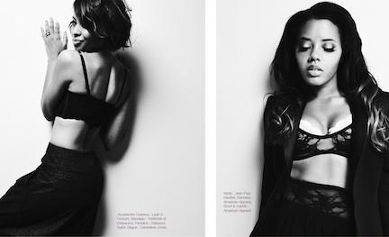 Jan 18, 2011 Angela and Vanessa Simmons Fashizblack Magazine