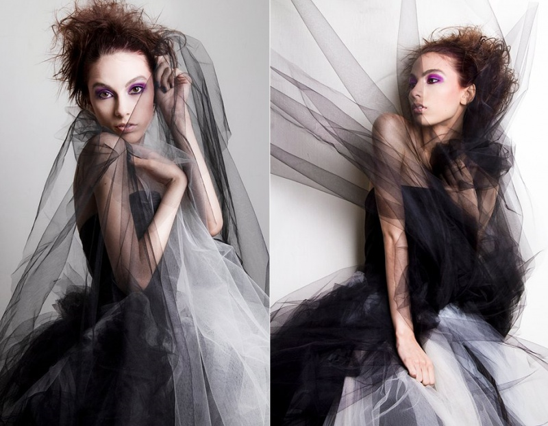 Female model photo shoot of kAziel by Jacqueline Clare Morris in Adelaide, SA, makeup by Kirsty Dolores Makeup