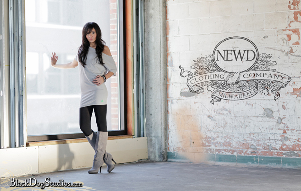 Male model photo shoot of NEWD Clothing Company in Milwaukee, WI, makeup by FaceScape Artistry