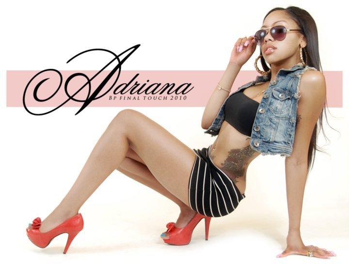 Female model photo shoot of Adriana Allen