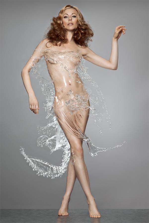 Studio Stuttgart (Germany) Jan 21, 2011 http://www.mark-gross.com water dresss
