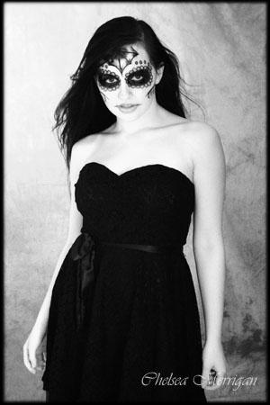 Jan 21, 2011 Chelsea Merrigan Photography Sugar Skulls Rachel