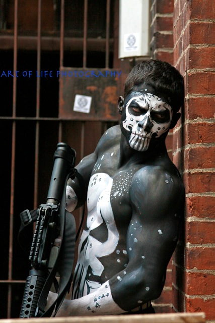 New Britain, CT. Jan 22, 2011 Art of Life Photography The Punisher