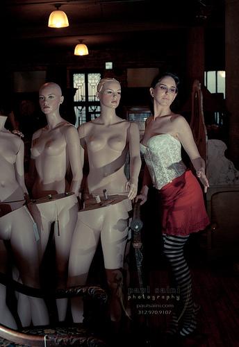 Female model photo shoot of Delirium by Paulo Saini