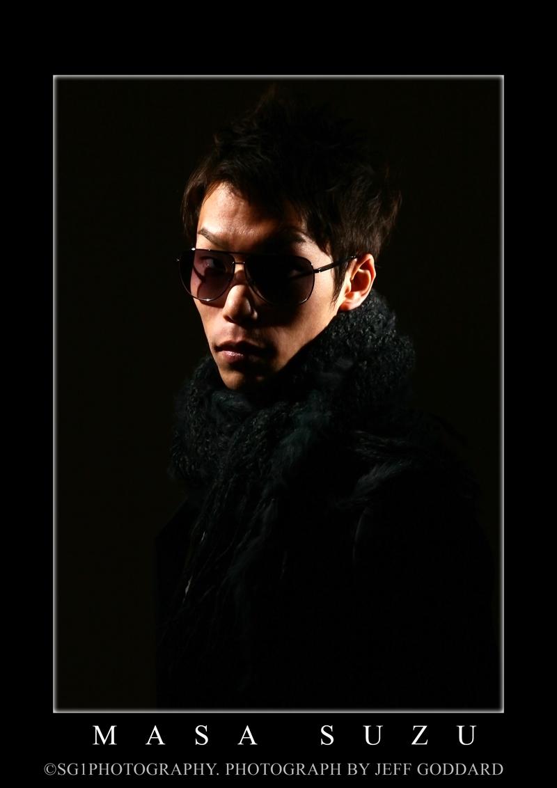 Male model photo shoot of Goddard Photografix and Masa Suzuki by Goddard Photografix in Azabu-Juban, Tokyo Japan