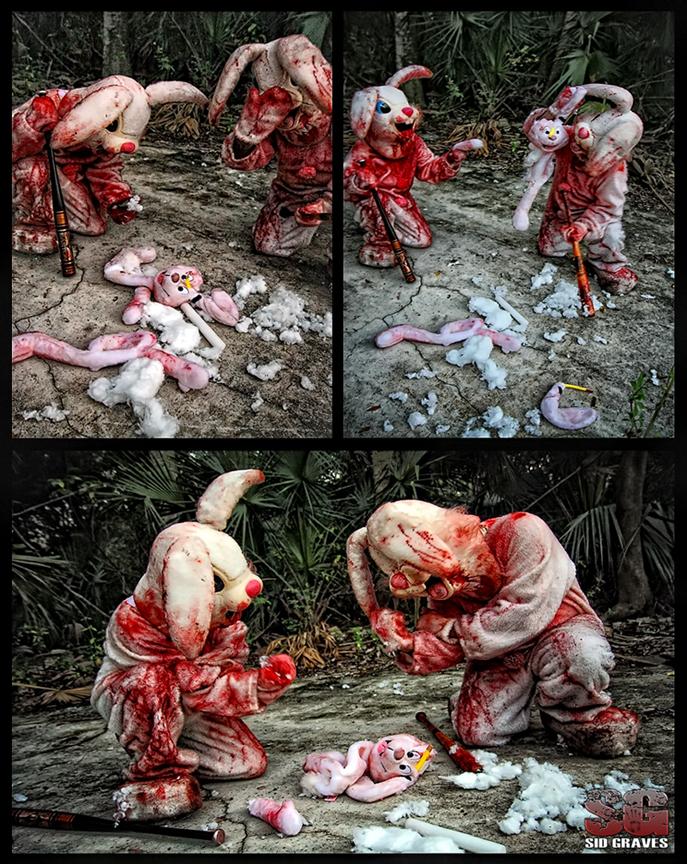 Slavia, Florida Jan 23, 2011 Sid Graves 11 Evil Bunny Death Squad  Meets Trix the Rabbit