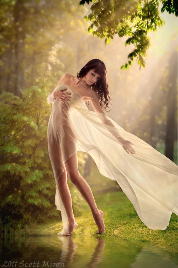 Female model photo shoot of P A U L I N K A by Scott Miron