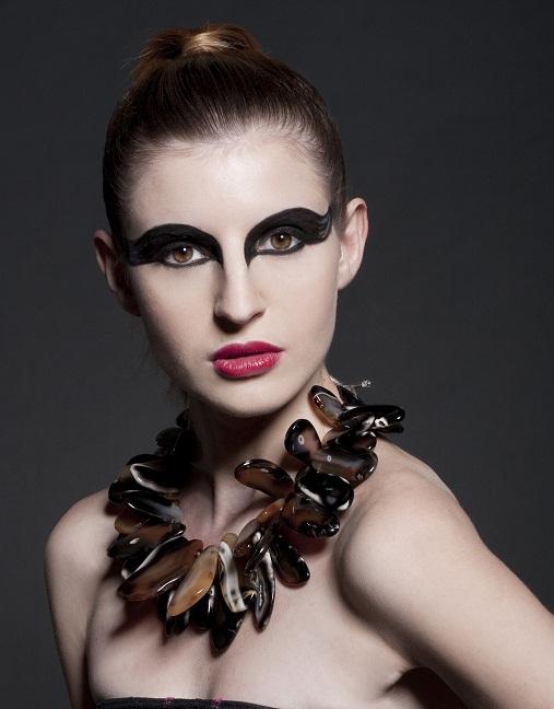 Female model photo shoot of Satsuki MUA and Dashhhhh by Lauren Ashley T, hair styled by Kyndra Turner