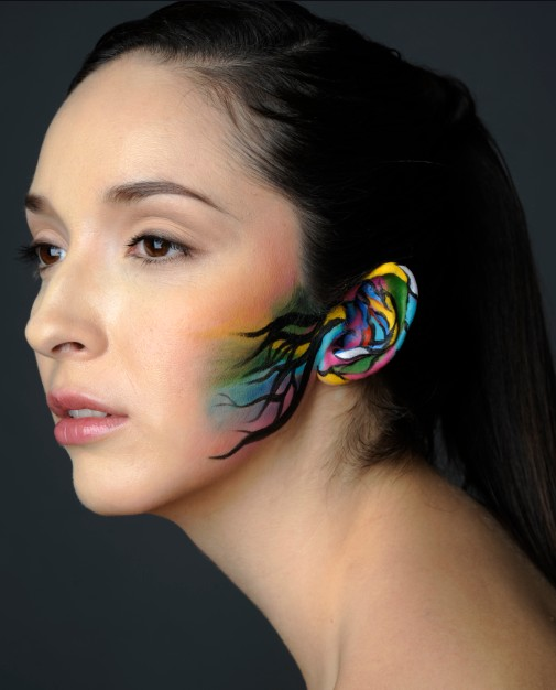 New York Jan 25, 2011 Woori Han <Hearing> Photographer: Demian Sandone,  Model: Karla Lopez (Click Agency)
