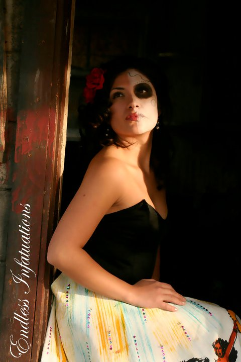 Female model photo shoot of SandraInez