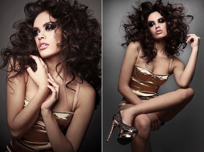 London Jan 29, 2011 Agata Preyss model Natalia Warner mua and hair Ana Popescu photo Agata Preyss stylist Evie Sykes