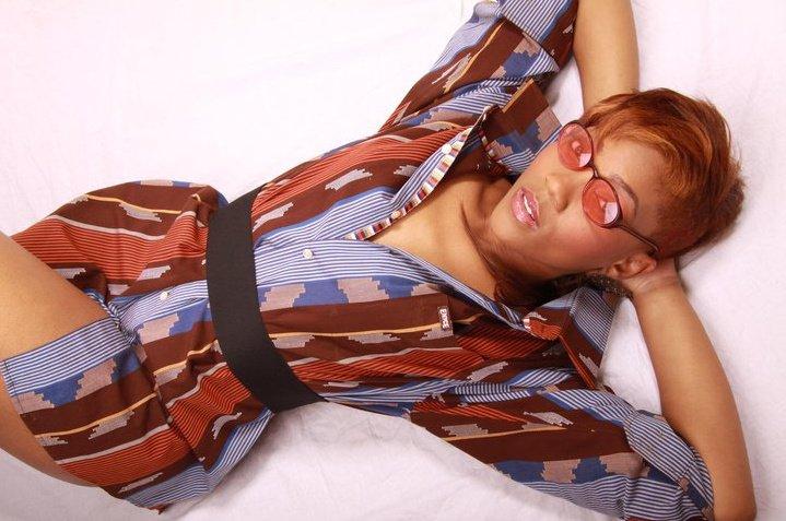 Female model photo shoot of Serene Me