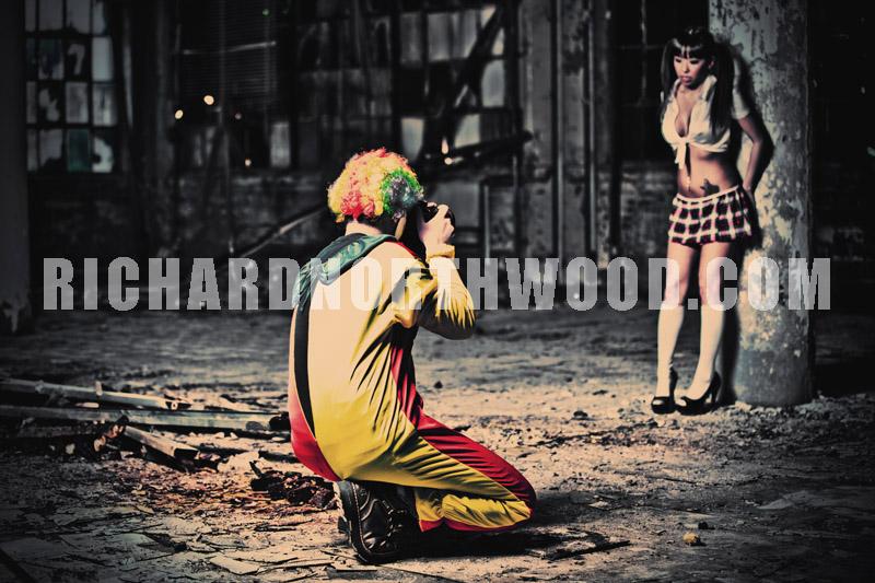 Male model photo shoot of Richard Northwood in Secret
