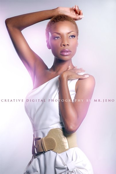 Atlanta Jan 29, 2011 Model Fatou Toure