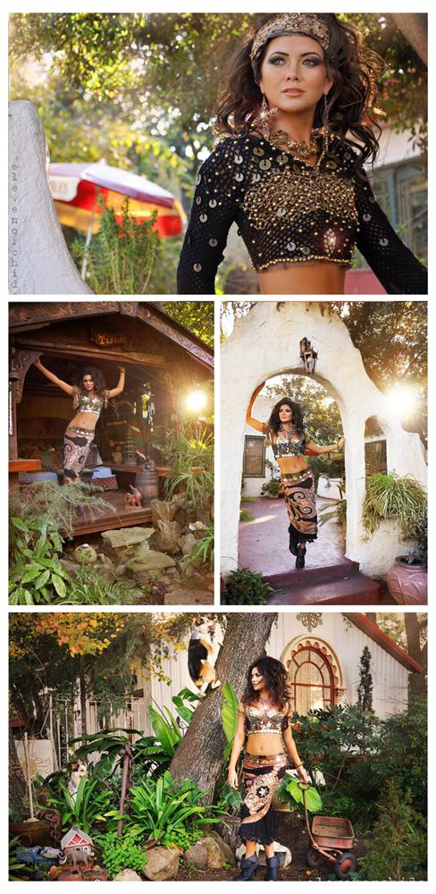 Jan 29, 2011 Hair by David Bui, Makeup by Carmela, Model: Kim De La Rosa Daughter of the desert    (gypsy-inspired series)