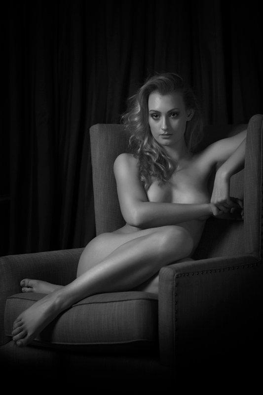 Female model photo shoot of Saz1 in Tulfarris House, Wicklow