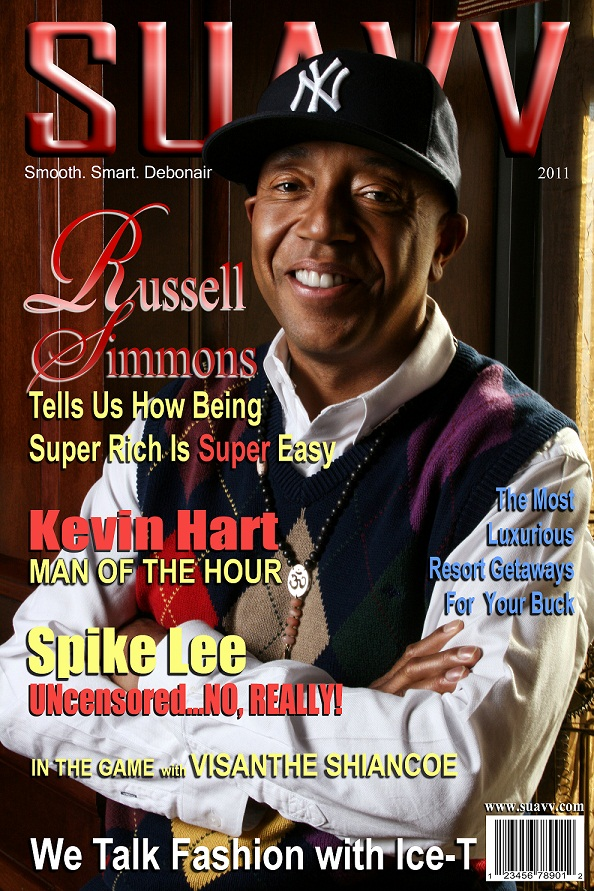 New York City Feb 01, 2011 Suavv Magazine photo by Michael Letterlough Photography Russell Simmons