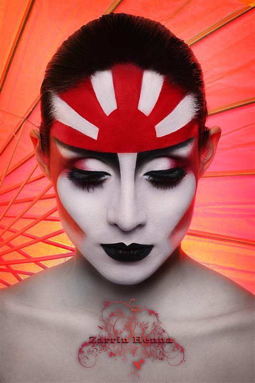 Feb 03, 2011 Zarrin Henna Land of the Rising Sun Geisha