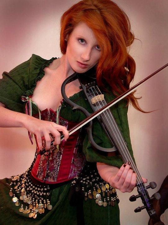 Studio Feb 04, 2011 Gypsy Violinist