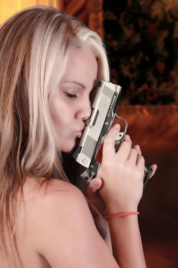 Orlando, Fl Feb 05, 2011 Universal Weapons Isnt She Lovely....