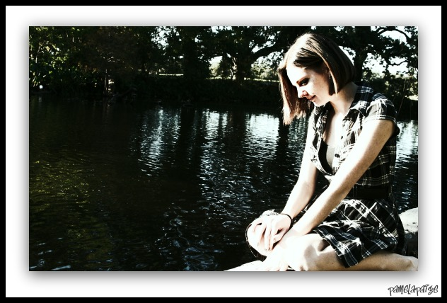 Female model photo shoot of PamelaPaige Photography in Audobon Park