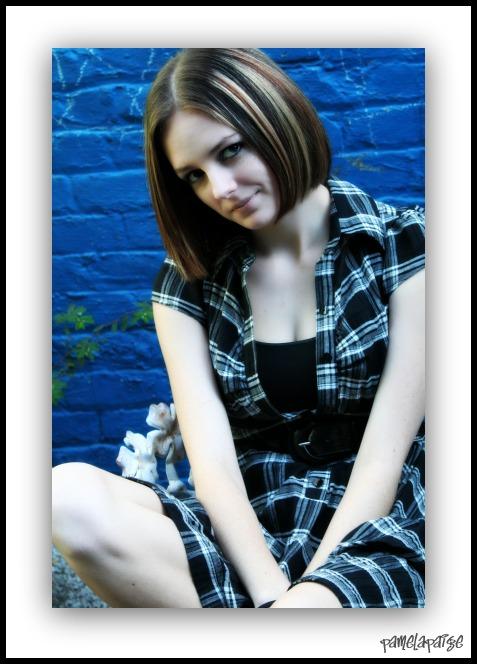 Female model photo shoot of PamelaPaige Photography