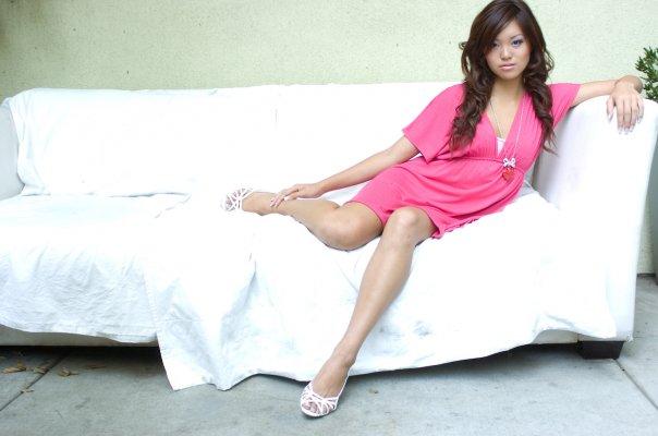 Female model photo shoot of Serena Su xoxo in LA