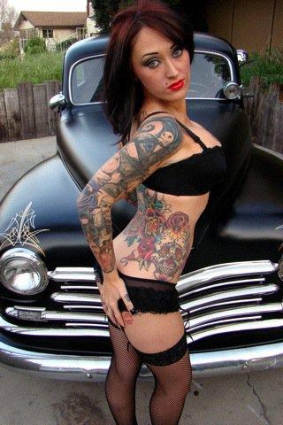 Female model photo shoot of dropkick 182