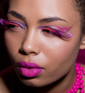 Female model photo shoot of Lisa Roman by Bas Clark in NYC, makeup by KaliDaSkope Beauty