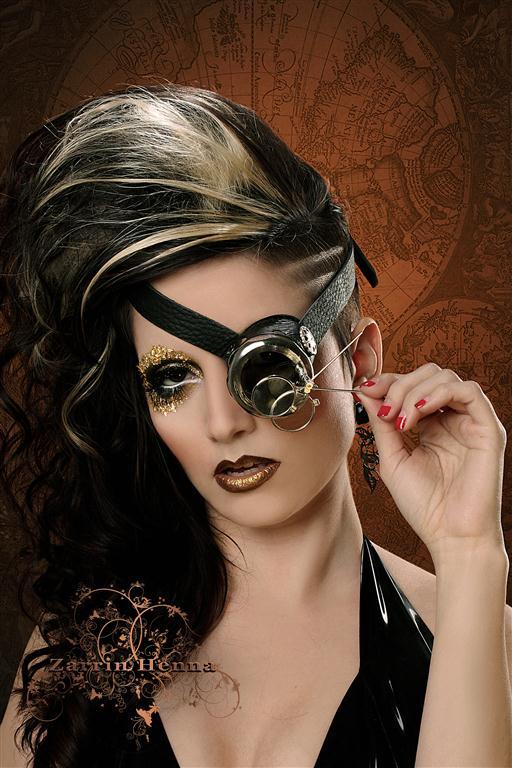 Feb 15, 2011 Zarrin Henna Steampunk Deanna Marie - Monocle by Steambaby