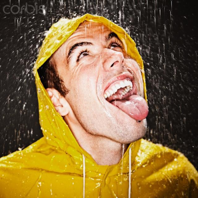 Feb 17, 2011 Drew Myers/ Corbis.com Catching Rain