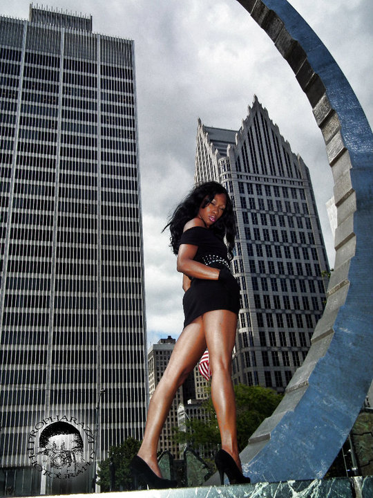 Male model photo shoot of PROPHARAZZI in DOWNTOWN DETROIT