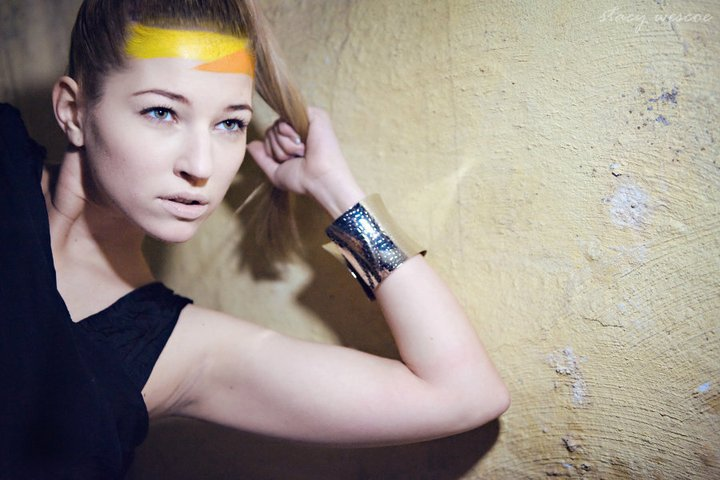 Female model photo shoot of Lenka Lukacova by Stacy Wescoe, makeup by Star Hair and Makeup