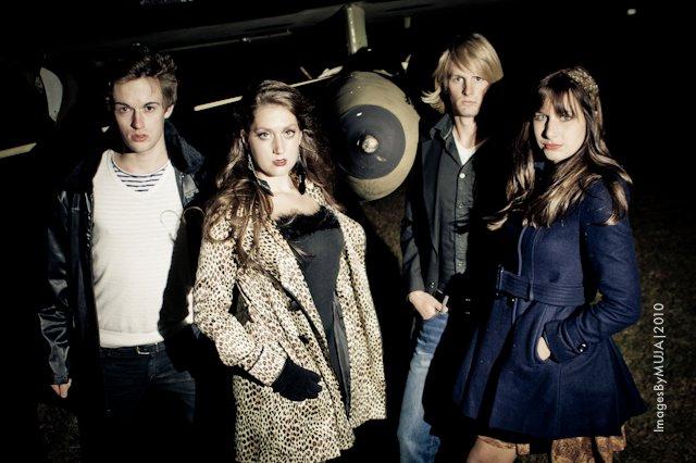 Female and Male model photo shoot of Melissa Grace Stylist, Grace Bristol and Eric Seifert by MR Foto