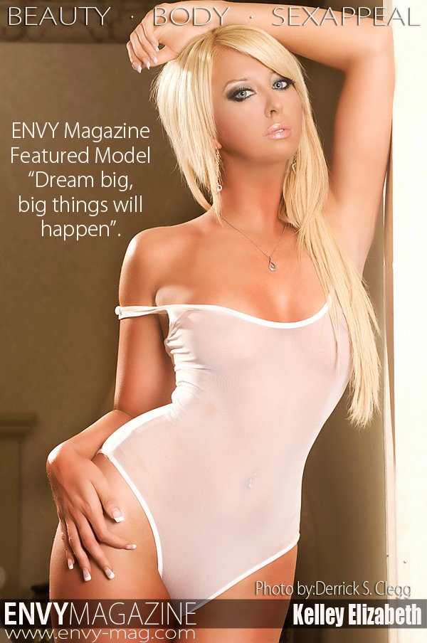 Cleveland, OH Feb 19, 2011 Envy Magazine//Derrick Clegg 2-14-11 ** Updated Look with my new blonde hair **