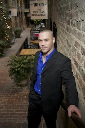 Male model photo shoot of Dustin Ward in old market omaha nebraska