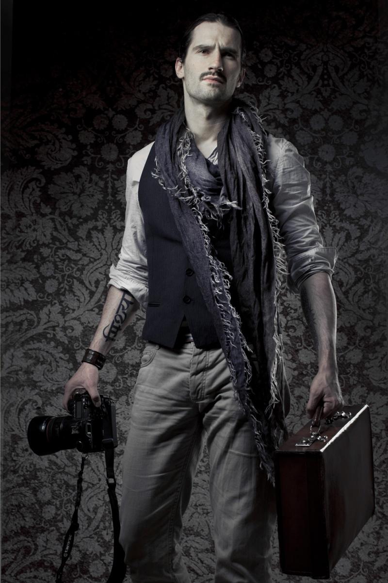 Male model photo shoot of greg mirzoyan in Paris