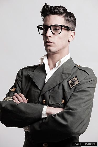 Male model photo shoot of carles miro