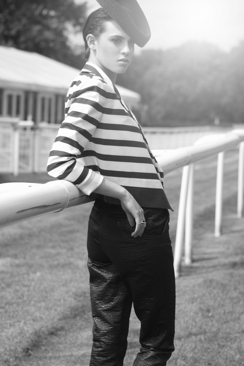 Female model photo shoot of Charlie Banks in Hamilton Racecourse