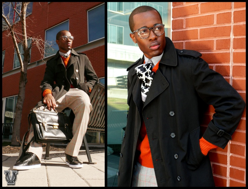 Newark, NJ Feb 24, 2011 Nnamdi Nwadike styled by Brick City Varsity