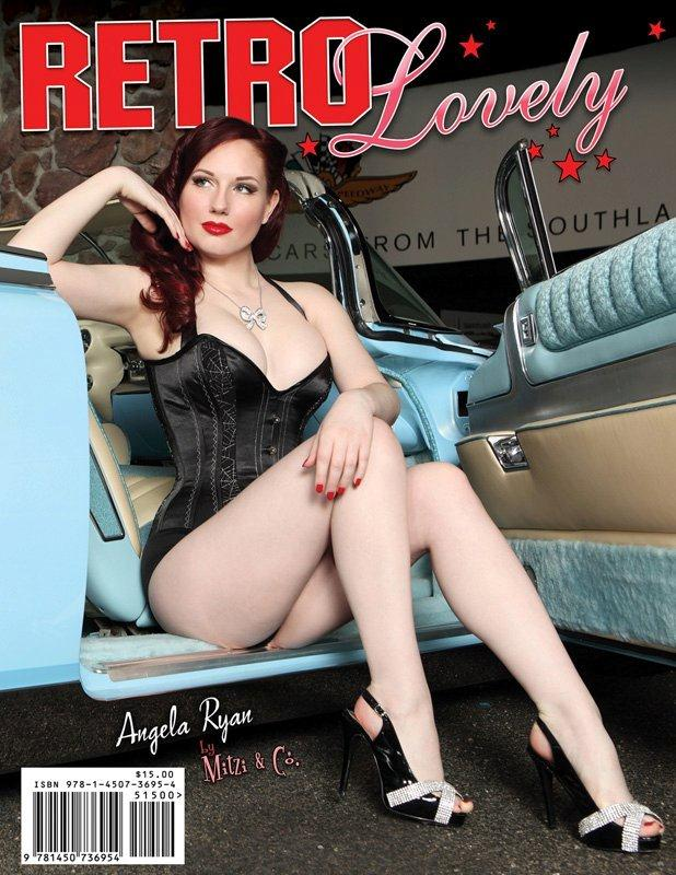 petersen auto museum, LA Feb 24, 2011 mitzi & co Cover of Retro Lovely Issue 5!