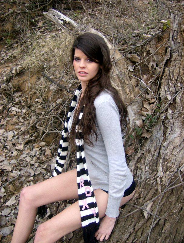Female model photo shoot of Aurora Mary Elisibeth in Lake Loon
