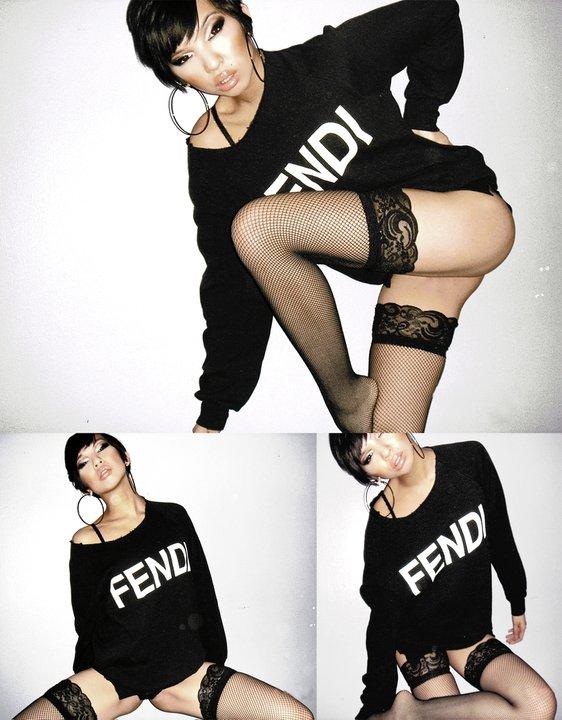 Female model photo shoot of K Rizz