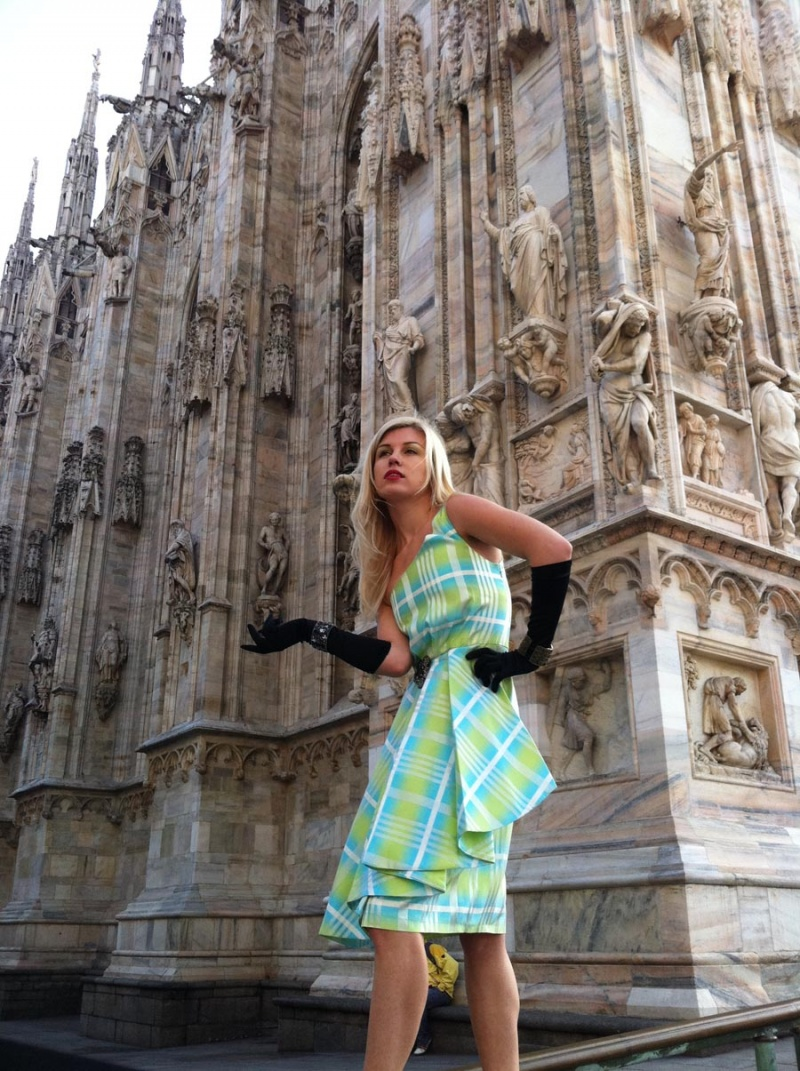 "Milan - Italy Mar 01, 2011 Sandra Auberg ""Machicao"" Couture in Italy"